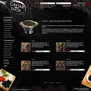 "Webmarketing zum Thema ""Caviar"""