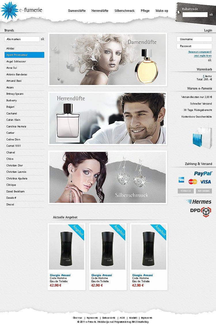 Webdesign-Kosmetik-Onlineshop