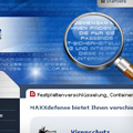 """Webdesign Beispiel zum Thema """"IT-Sicherheit""""."""