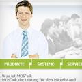 """Webdesign zum Thema """"Software-Vertrieb"""""""