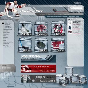 Onlineshop zum Verkauf von Hockey-Produkte