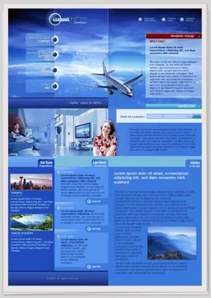 """Design zum Thema """"Flugreisen"""""""