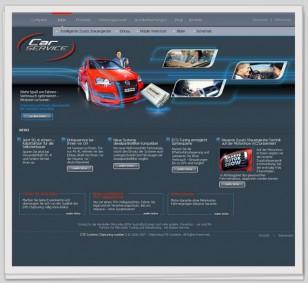 "Webdesign zum Thema ""CarService"""
