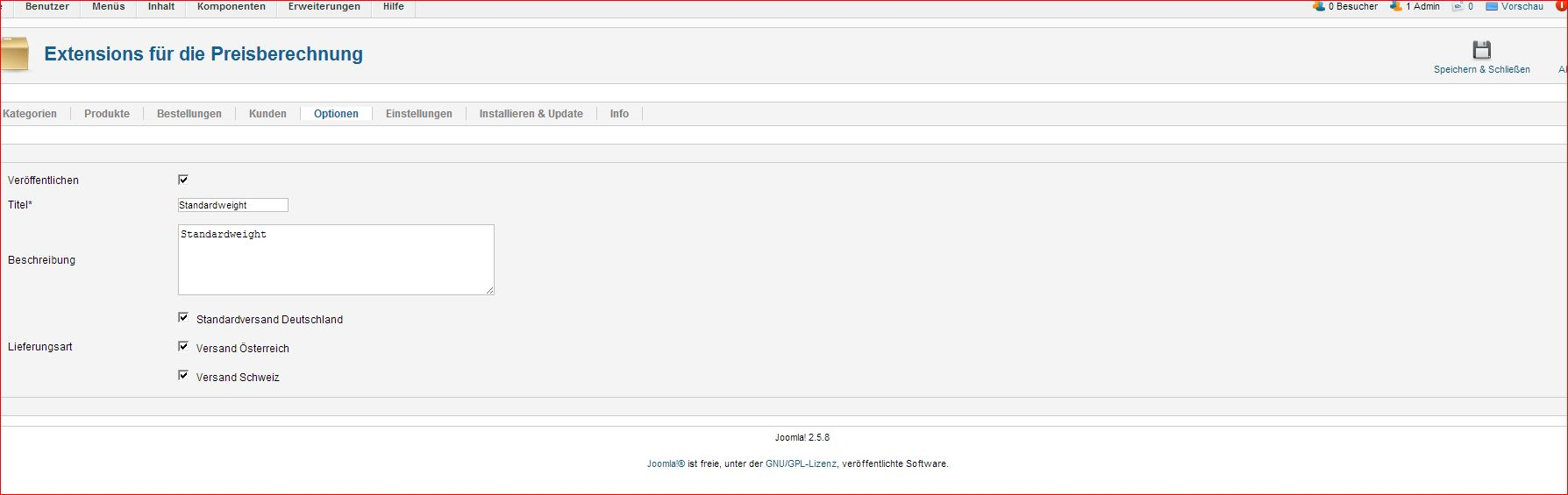 Use and configure shipping extension