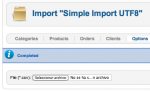 Aw: Simple Import not working