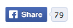 Social Share Facebook button