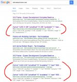 Aw: Rich snippets for reviews