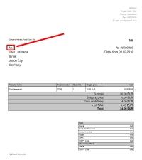 PDF user title