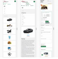 Joomshopping Template green