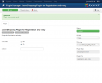 Registration and auto login