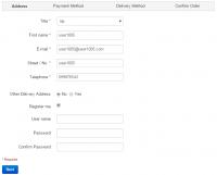 Auto Registration User