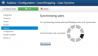 Joomla user Synchro