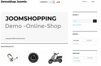 Joomshopping Black Template