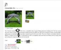 Image attribute from product