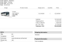 Order mail tmpl