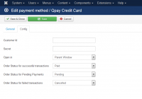 Wirecard Qpay Credit Card