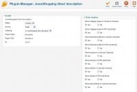 Short description cart / checkout