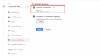 Google Analytics E-Commerce Tracking