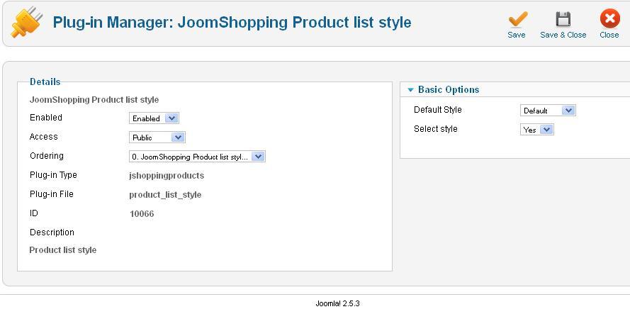 """Aw: Frage zur Konfiguration von """"Addon Product list style"""""""